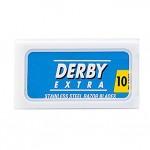 Lamette Derby Extra Stainless per rasoio di sicurezza conf. 10 pz.