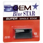 Gem Blue Star Super Single Edge 10 pz. USA