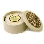 Mitchell's Wool Fat Soap - Ceramic Shaving Soap Dish w/soap 125 g