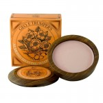 Almond Oil Shaving Soap Wooden Bowl 80 g