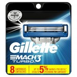 Gillette lame Mach3 Turbo USA conf. 8 pz.