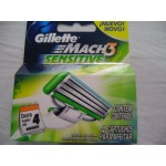 Gillette lame Mach3  Sensitive conf. 4 pz.