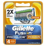 Gillette lame Fusion Proglide Power conf. 4 pz.