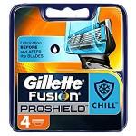 Gillette Lame Flexball Fusion Proshield Chill 4 pz.