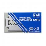 Kai Stainless Steel lame per rasoio di sicurezza conf. 5 pz.