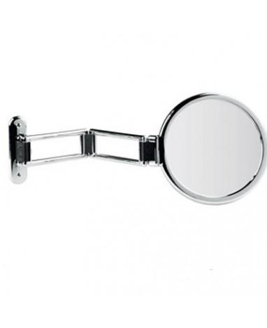 Specchio da muro snodato Ø 18 cm ingrandimento X3