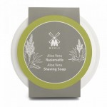Aloe Vera Ceramic Shaving Soap Bowl 65 g