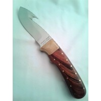 W.W. Wood Coltello lama fissa manico in desert ironwood