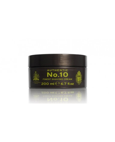 Authentic N°10 Shaving Cream Bowl 200 ml